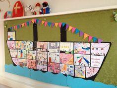 via : Rianne Kanters - van 't Wout Elk kind maakt een kamer voor in de boot. Classroom Board, School Classroom, Classroom Decor, Drawing For Kids, Painting For Kids, Simon Says Stamp Blog, Saint Nicolas, School Decorations, Inspirational Wall Art