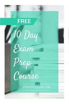 Get ready for exam season with this free course. Learn how to manage your time, look after your health and study effectively.