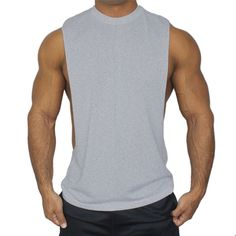 523c426a524be Summer Gyms Tank Tops Mens Bodybuilding Clothes Fitness Man Crossfit  Fashion Singlet Sleeveless Male Cotton Workout