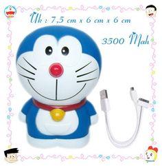 Power Bank Doraemon Full Body Type1 (Rp 250Rb Disc Jd Rp 150Rb)