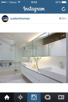 Bathroom cabinetry & mirrors