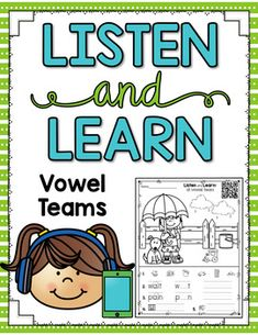 These Listen and Learn Activities are 15-16 minutes each of GUIDED INSTRUCTION by ME! :) Students listen, color, and write based on skills that I teach! Simply copy the printable you want your students to work on and choose one of the following formats:Download the MP3 files DIRECTLY onto your de...