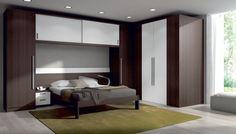 dormitorio de matrimonio puente con vestidor, un clásico reinventado www.moblestatat.com horta guinardó barcelona