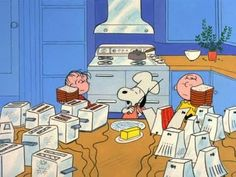 A Charlie Brown Thanksgiving - Food - YouTube