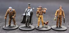 Vomkrieg: Mansions of Madness - the characters