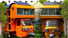 Diy Camper Trailer, Car Camper, Campers, Mini Camper, Caravans, Rv, Youtube, Automobile, Busses