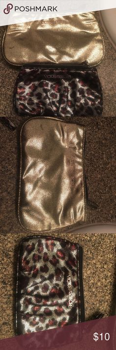 Set of Victoria secret makeup bags Set of two nwot Victoria secret makeup bags Victoria's Secret Bags Cosmetic Bags & Cases