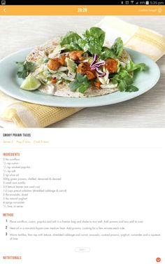 Prawns Seafood Recipes, Diet Recipes, Seafood Meals, Healthy Recipes, Clean Eating, Healthy Eating, Healthy Food, 28 By Sam Wood, Diet Ideas