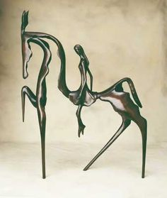 Bronze Circus Horse by Stanley Dove