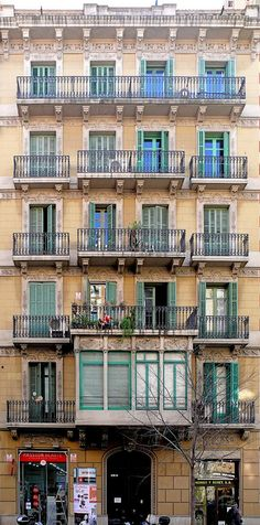 Barcelona - Consell de Cent 238 a | Flickr - Photo Sharing!