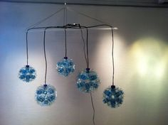 Upcycling:D Light design with plastic bottle