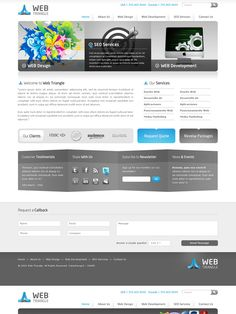 Corporate Web Mockup by bilalm