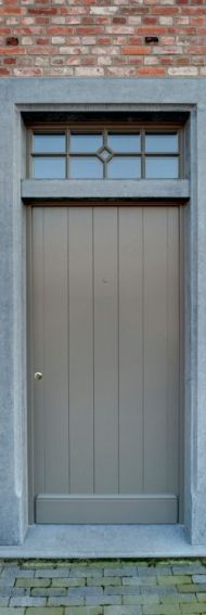 Belgian front door