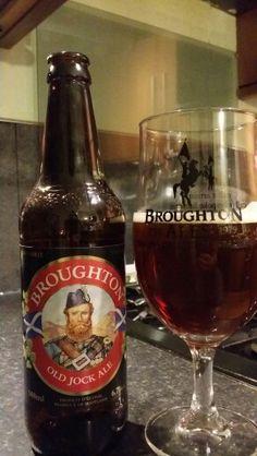 Broughton Ales Old Jock Ale #craftbeer #realale #ale #beer #beerporn #beerlove…