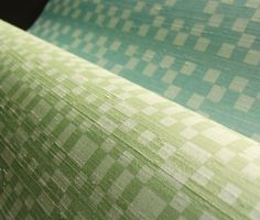 Green Slub Silk wallpaper