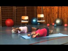 Hrudní páteř - Cvičením proti bolesti - 3. díl - YouTube