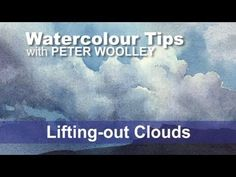 Watercolour Tip from PETER WOOLLEY: Adding Visual Interest with Contours - YouTube