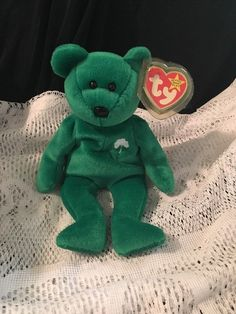 65a0023d892 Erin TY Beanie Baby RARE Ty Baby Retired 1997 by JewelzVintage Ty Babies
