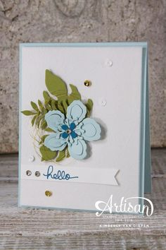 Botanical Gardens Suite, Stampin' Up!, Instructions on my blog - StampinByTheSea.com