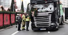 Der Lastwagen der Marke Scania gehört einer polnischen Spedition und hatte...
