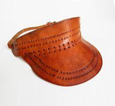Leather Visor on Uncovet.com