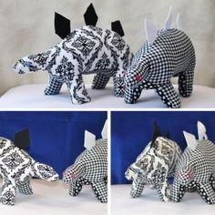 Free Project: Plush Stegosaurus | Camelot Fabrics