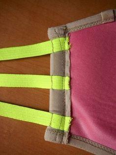 DIY bra hack - 3 strap bra for those backless tops!