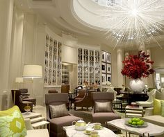 Okay, and I'm staying in this place too (Corinthia Hotel, London) but not until AFTER the 2012 Olympics.
