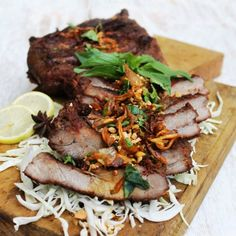 Balinese Style Grilled Baby Back Ribs with Spicy Sweet Soy Sauce Barbeque Sauce adapted from Naughty Nuri's Warung Restaurant in Ubud, Bali