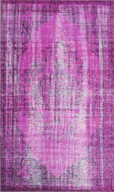 Winsdor Overdyed Grove Violet Rug- I need an awesome, oversized rug like this