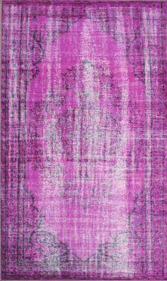 Rugs USA Winsdor Overdyed Grove Violet Rug  Item #: 200DIRE1A-P  $300 - $592