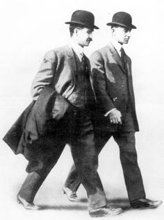 Wright brothers -- their determination and relentless pursuit of heavier-than-air flight gave all of us a new, magical means of travel