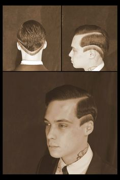 Roaring 20s Meets Modern Haircut by Tyler Creek - I'd sport this if I was a guy.