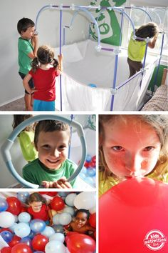 DIY Balloon Play House and Fort Magic Giveaway!