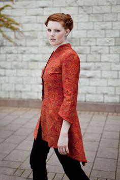 """Blazer - Edler Gehrock """"Kleid No.1"""" - ein Designerstück von Aenne-et-Linum bei DaWanda Farbe und Schnitt sehr hübsch"""