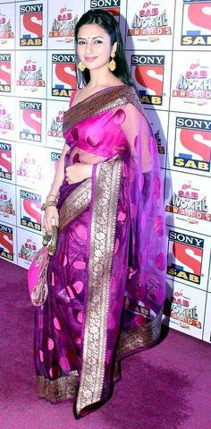 Divyanka Tripathi at the Sab Ke Anokhe Awards function. #Bollywood #Style #Fashion
