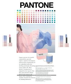 """Pantone"" by olesyabond ❤ liked on Polyvore featuring beauty, Color Me, Sephora Collection, Pink, Beauty, Blue and pantone"