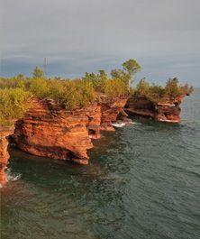 Apostle Island Cruises - off the coast of Wisconsin on Lake Superior