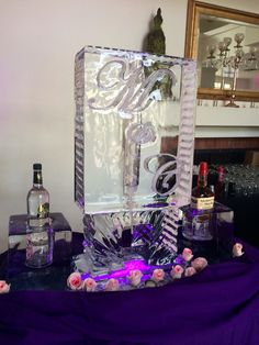 An ice luge to cool your favorite beverages!