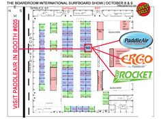 October 8 & 9, 2016 PaddleAir is at The Boardroom International Surf Show.