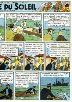 Page n° 9 du Journal de TINTIN édition Belge N° 3 du 16 Janvier 1947