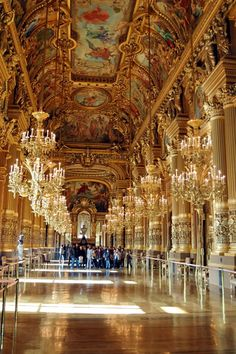 hall in Opera House, Paris