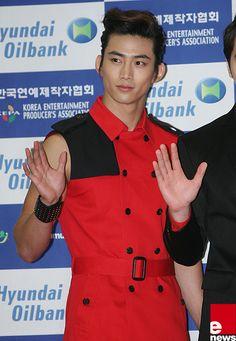 #Dream_Concert_2012 #12052012 #2PM #Taecyeon #Red_Carpet