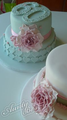 Two Tier 90th Birthday Cake Recipes Pinterest 90 birthday
