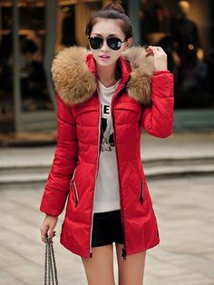 This coat is cute however you shouldn't be wearing a coat if you can wear shorts......lol