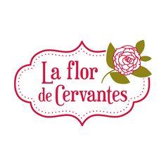 Logotipo LA FLOR DE CERVANTES Floristería