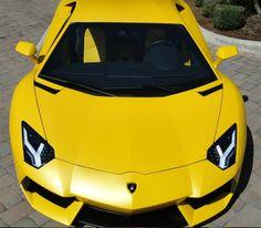 Matte Yellow Lamborghini Looks Hungry For Speed! #spon