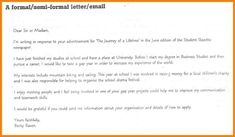 8 semi formal letter format hvac resumed task pinterest 8 how to write a semi formal letter nanny resumed thecheapjerseys Image collections