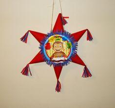 Piñatas: piñatas en forma de estrella