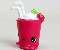 2016 SHOPKINS FIGURES - Berry Smoothie Pink 4-029 (Rare) SEASON 4 by Moose Toys -- Click image for more details.